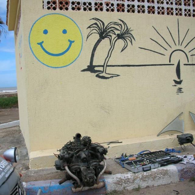 2010, Maroc en 2 CV le 17 Avril