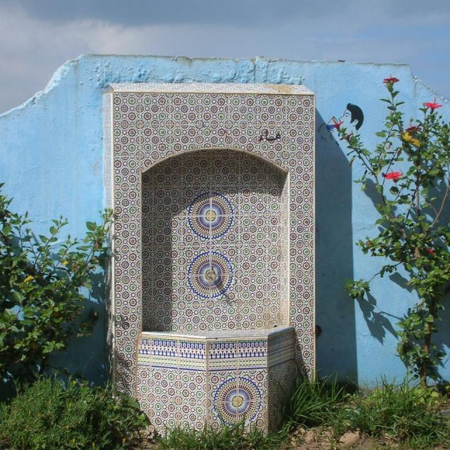 2010,Maroc en 2 CV le 18 Avril