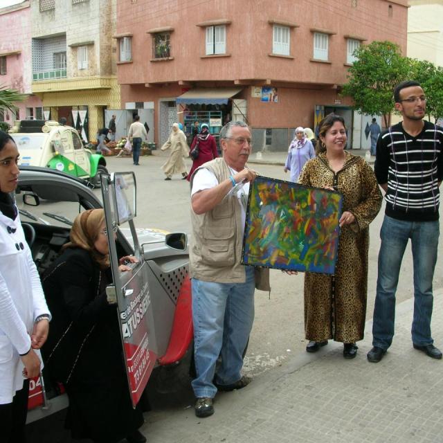 2010 mon raid humanitaire au maroc en 2 cv