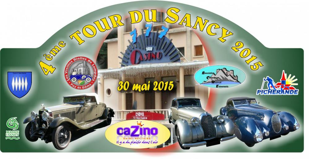 Plaque tour du sancy 2015 originale 2