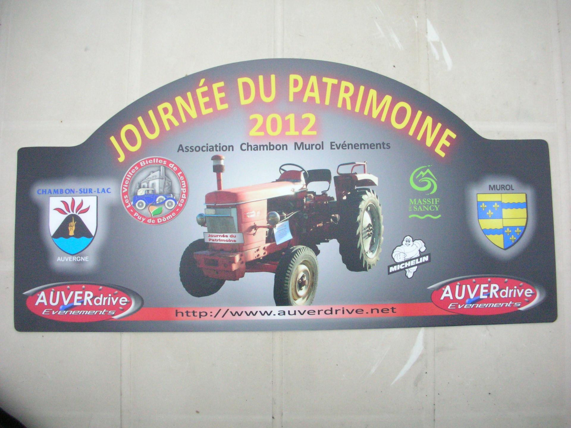 Tracteur 2012